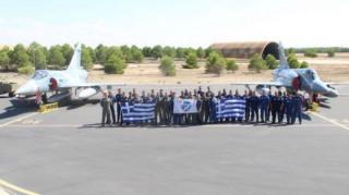 «Κεντάει» η Πολεμική Αεροπορία στην άσκηση του ΝΑΤΟ