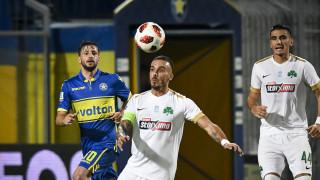 Super League: Αστέρας Τρίπολης - Παναθηναϊκός 1-1