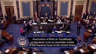 ΗΠΑ: Εξελέγη για το Ανώτατο Δικαστήριο ο Μπρετ Κάβανο