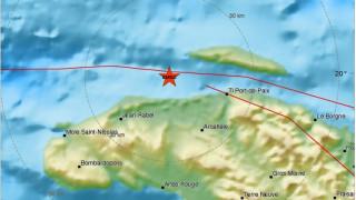 Ισχυρός σεισμός 5,9 Ρίχτερ ταρακούνησε την Αϊτή