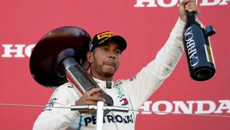 F1: «Αγκάλιασε» τον τίτλο ο Χάμιλτον