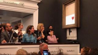 Αποκάλυψη Banksy: Πώς κατέστρεψα τον πίνακά μου στη δημοπρασία του Sotheby's