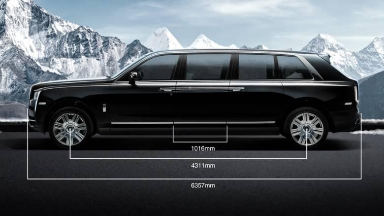 Αυτοκίνητο: Υπάρχει SUV με μήκος προεδρικής λιμουζίνας και... ίσως και λίγο παραπάνω;