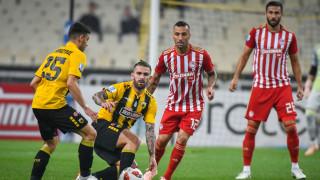 Super League: Ισοπαλία στο ντέρμπι ΑΕΚ - Ολυμπιακός