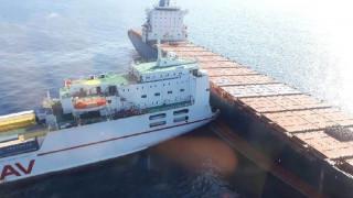 Σύγκρουση πλοίων ανοικτά της Κορσικής - Μεγάλη διαρροή καυσίμων