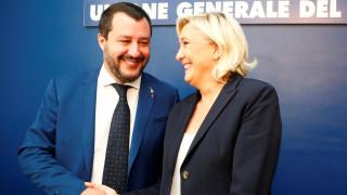 Το ρήγμα μεταξύ Ρώμης – Βρυξελλών και η επίσκεψη - μήνυμα της Λεπέν στην Ιταλία