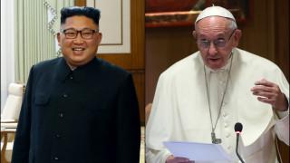 Ο Κιμ Γιονγκ Ουν προσκαλεί τον πάπα Φραγκίσκο στην Πιονγκγιάνγκ