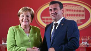 Επιστολή Μέρκελ σε Ζάεφ για τη συμφωνία των Πρεσπών