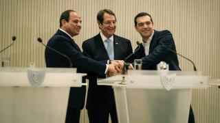 Στην Κρήτη ο Τσίπρας για την τριμερή Σύνοδο Ελλάδας, Κύπρου και Αιγύπτου