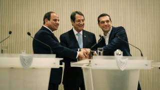Το πρόγραμμα του Αλέξη Τσίπρα στην 6η Σύνοδο Κορυφής Ελλάδας-Αιγύπτου-Κύπρου