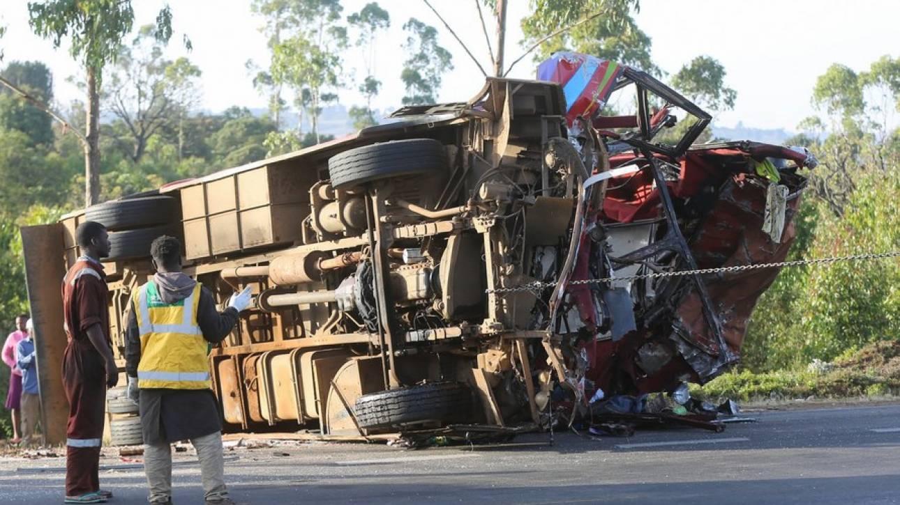 Κένυα: Τροχαίο δυστύχημα λεωφορείου με δεκάδες νεκρούς