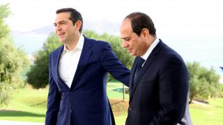 Συμφωνία Τσίπρα - αλ Σίσι για κλείσιμο των διαπραγματεύσεων για την ΑΟΖ εντός του έτους