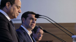 Τσίπρας: Στηρίζουμε την Κύπρο στην αξιοποίηση της ΑΟΖ έναντι οποιασδήποτε απειλής τρίτης χώρας