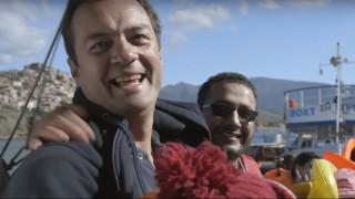 4.1 μίλια ανθρωπισμού: δείτε το ντοκιμαντέρ για τον Κυριάκο Παπαδόπουλο, ήρωα του Αιγαίου (vid)