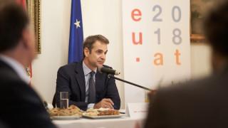 Μητσοτάκης: Προτεραιότητα η επίτευξη υψηλών ρυθμών ανάπτυξης