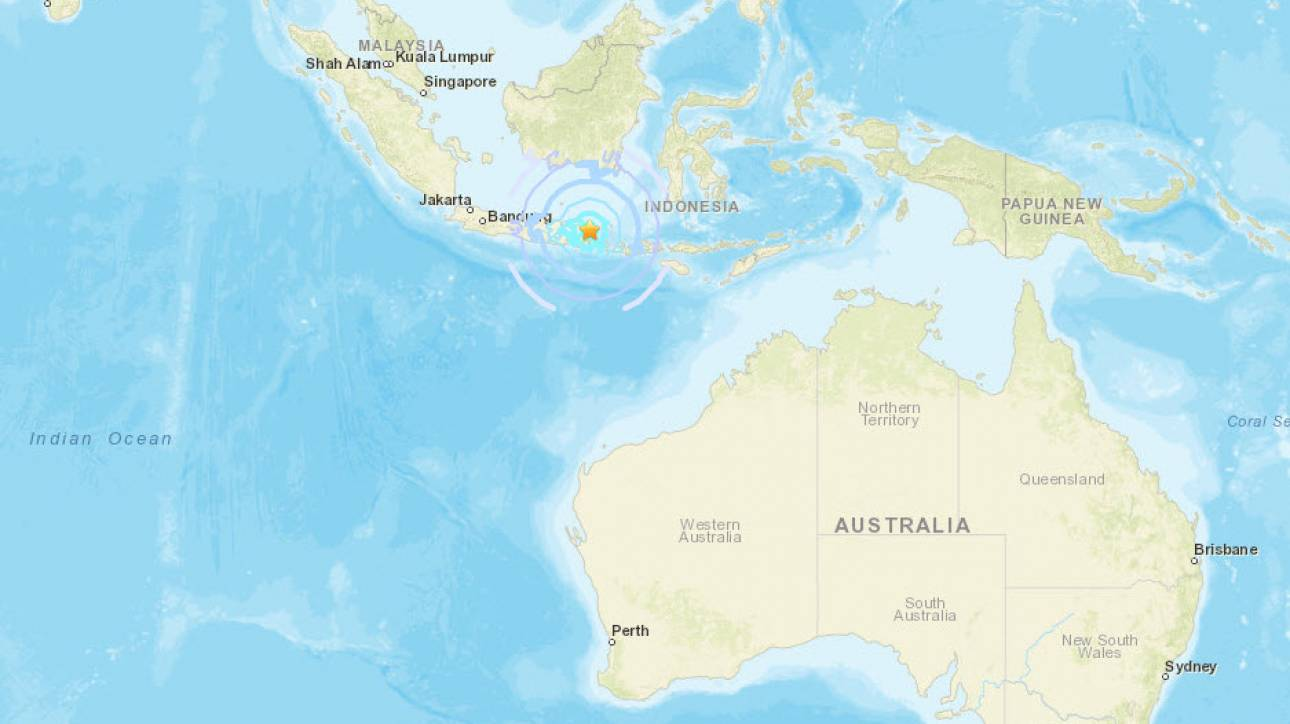 Ινδονησία: Τρεις νεκροί στην Ιάβα από το σεισμό των 6 Ρίχτερ