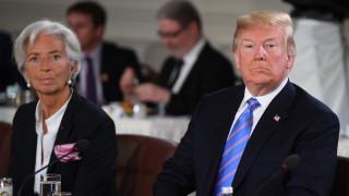 Άτυπη «κόντρα» Λαγκάρντ – Τραμπ για την άνοδο επιτοκίων της Fed