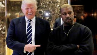 Κάνιε Ουέστ: συμμαχία στο Λευκό Οίκο με τον Τραμπ όχι όμως με τον Κόλιν Κάπερνικ