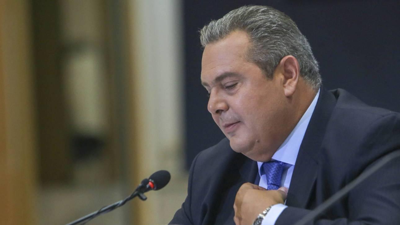 Διπλό υπουργικό «άδειασμα» σε  Πάνο Καμμένο