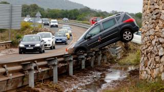 Στους 12 οι νεκροί από τις φονικές πλημμύρες στη Μαγιόρκα