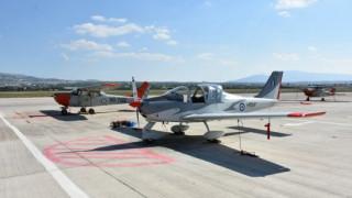 Προσγειώθηκε στο Τατόι το πρώτο εκπαιδευτικό αεροσκάφος P-2002JF