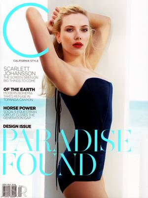 H Scarlett Johannson στο California Style Magazine