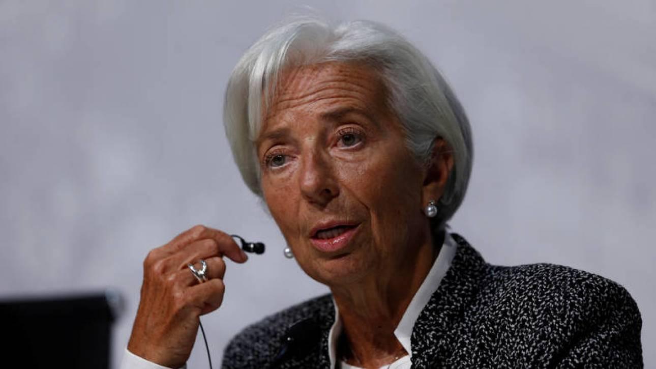 Συντάξεις: Στην ευρωζώνη παρέπεμψε τον Τσακαλώτο η Λαγκάρντ