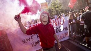 Ιταλία: Στους δρόμους χιλιάδες μαθητές κατά των περικοπών στην Εκπαίδευση