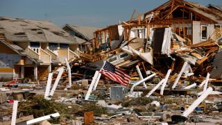 ΗΠΑ: Αυξήθηκε ο απολογισμός των νεκρών από τον κυκλώνα Μάικλ