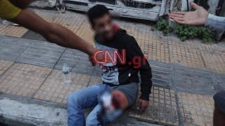 Άγρια συμπλοκή μεταναστών στο κέντρο της Αθήνας