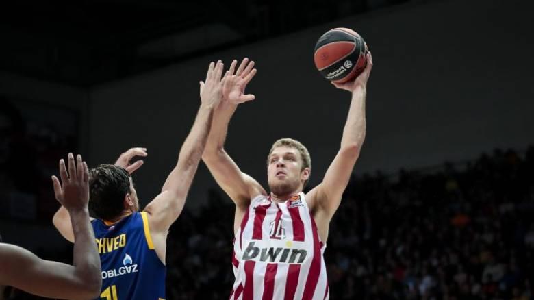 Euroleague: Εμφατικό πέρασμα του Ολυμπιακού από τη Μόσχα