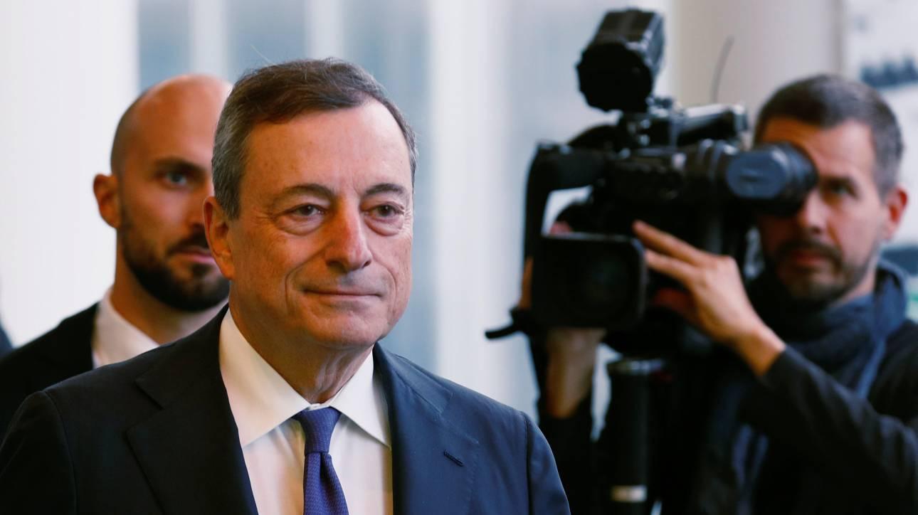 Ντράγκι: Αυτοί είναι οι μεγαλύτεροι κίνδυνοι για την ΕΚΤ