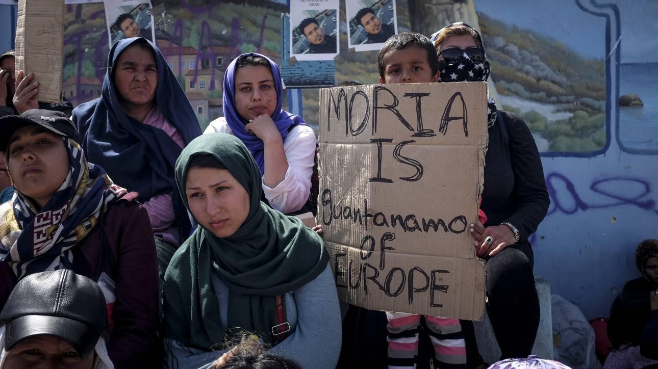 Newsweek: Φόβος και βιασμοί παιδιών στη Μόρια