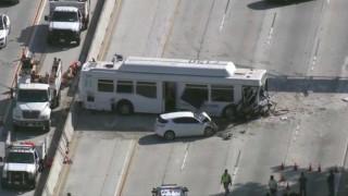 ΗΠΑ: Χάος σε αυτοκινητόδρομο του Λος Άντζελες - 40 τραυματίες από καραμπόλα