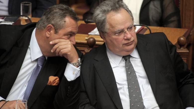 Απορρίπτει ο ΣΥΡΙΖΑ το αίτημα της ΝΔ για ακρόαση Καμμένου - Κοτζιά