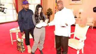 Το δώρο του Κάνιε Ουέστ και της Κιμ Καρντάσιαν στον πρόεδρο της Ουγκάντα