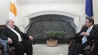 Βούτσης σε Αναστασιάδη: Έχουμε ανοιχτά ζητήματα, όπως το θέμα των γερμανικών οφειλών