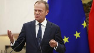 Απαισιόδοξος ο Τουσκ ενόψει της Συνόδου Κορυφής για το Brexit