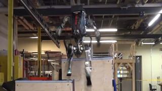 Το ρομπότ που κάνει… παρκούρ