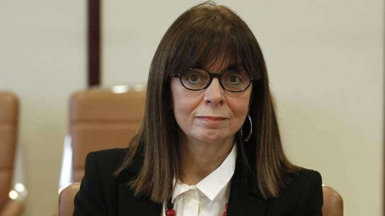 Αικατερίνη Σακελλαροπούλου: Θα ανταποκριθώ με όλες μου τις δυνάμεις