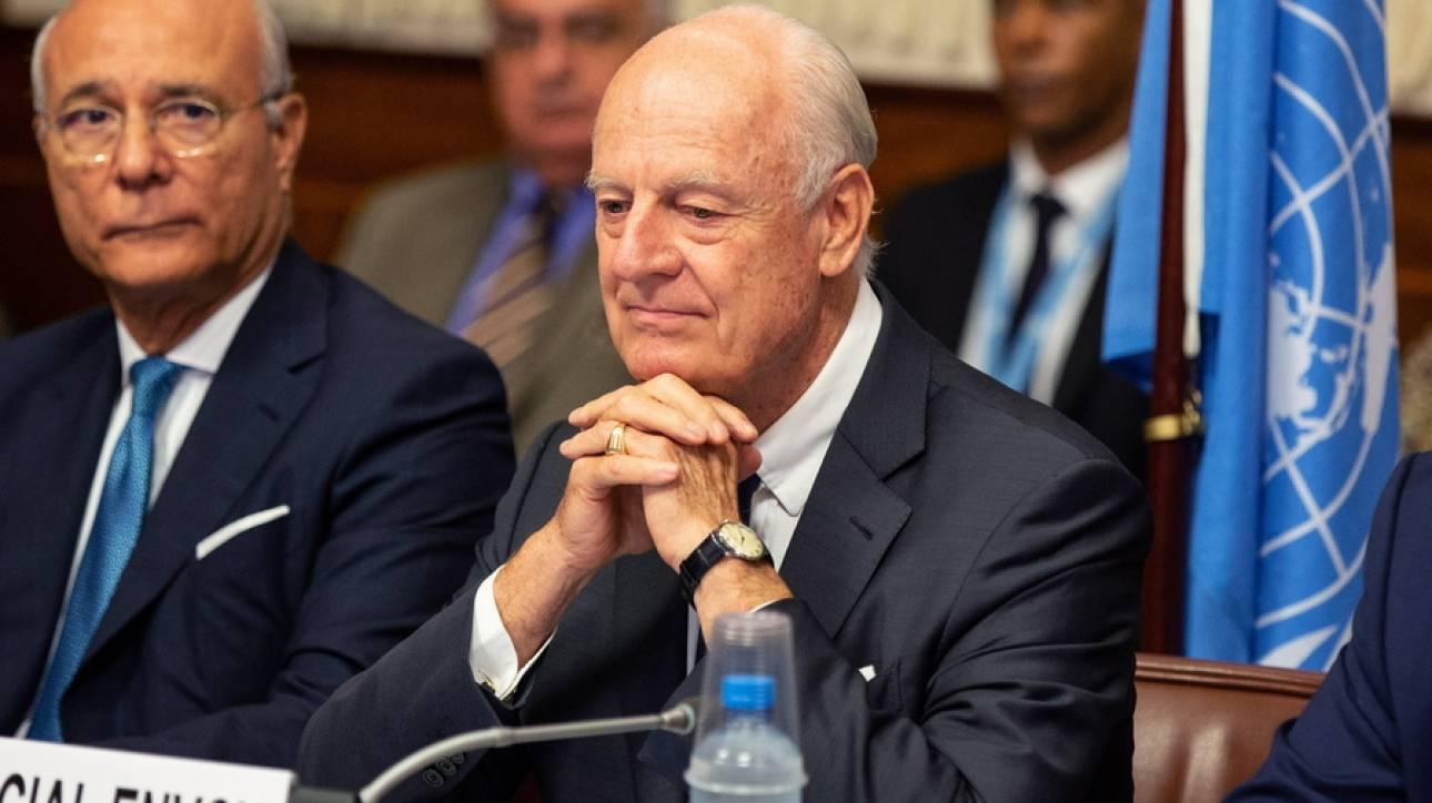 Παραιτήθηκε ο ειδικός απεσταλμένος του ΟΗΕ για τη Συρία