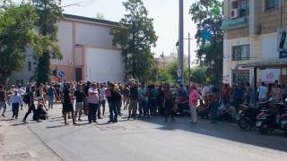 Πορεία μεταναστών από τη Μόρια επιχείρησε να φτάσει στη Μυτιλήνη