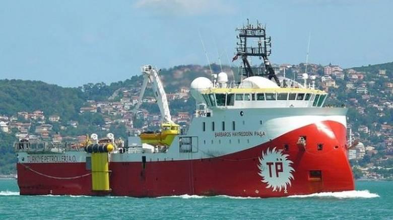 Διαψεύδει επεισόδιο μεταξύ ελληνικού πλοίου και Barbaros η ελληνική πλευρά