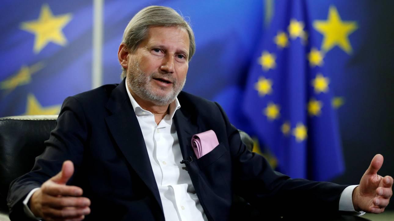Νέο μήνυμα Χαν στον πολιτικό κόσμο της πΓΔΜ