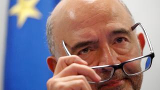 Μοσκοβισί: Δεν υπάρχει κίνδυνος μετάδοσης της ιταλικής κρίσης