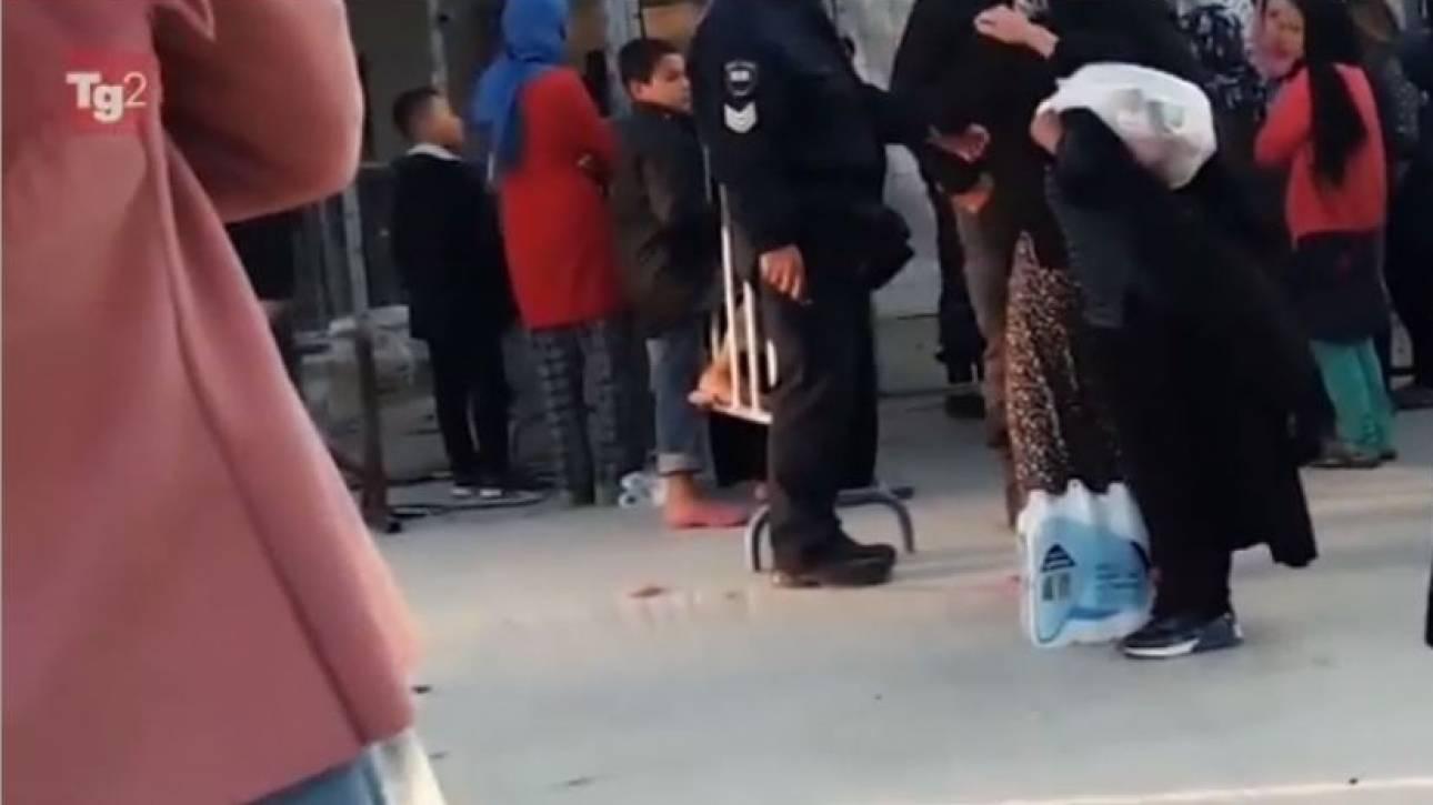Μόρια: Σάλος και ΕΔΕ για το βίντεο της RAI με «πρωταγωνιστές» αστυνομικούς