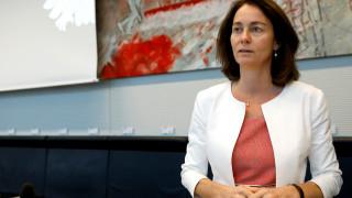 Η Καταρίνα Μπάρλεϊ επικεφαλής του SPD για τις ευρωεκλογές