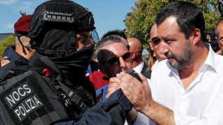 Ο Σαλβίνι στέλνει αστυνομικούς στα σύνορα με τη Γαλλία μετά από επεισόδιο με μετανάστες