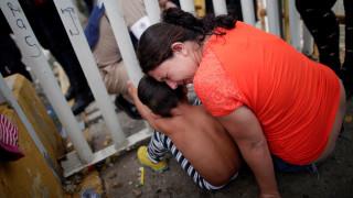 Το Μεξικό άνοιξε τα σύνορά του σε γυναίκες και παιδιά μετανάστες