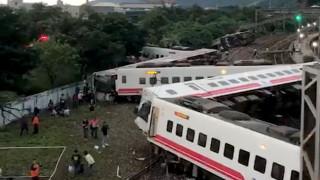 Ταϊβάν: Πολύνεκρο δυστύχημα με εκτροχιασμό τρένου